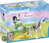Playmobil Eenhoornkoets met Vlinderfee - 5446