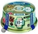 Maxell DVD+R 120min/4.7GB 50 stuks op Spindel