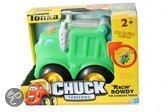 Tonka Chuck &amp  friends: racin rowdy de vuilniswagen