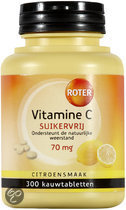 Roter Vitamine C Suikervrij - 300 Tabletten - Vitaminen