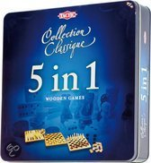 5 In 1 In Spellen - Tin Box
