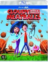 Het Regent Gehaktballen (Cloudy With A Chance Of Meatballs) (3D Blu-ray)