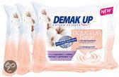 Demak'Up - Normale/Gemengde huid - Reinigingsdoekjes - 3 x 25 stuks - Voordeelverpakking
