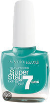 Maybelline SuperStay/Forever Strong - 605 Hyper Jade - Blauw - Nagellak