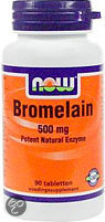 Now Bromelain Tabletten 90 st