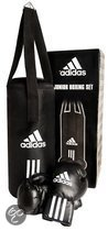 adidas Bokszak Set - Junior - Zwart