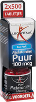 Lucovitaal Melatonine 100 Mcg 2x500 Tabletten