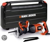BLACK+DECKER 1050W Reciprozaag met variabele snelheid RS1050EK