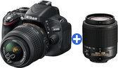 Nikon D5100 18-55 VR + 55-200 VR KIT - D-SLR-camera