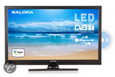 Salora 22LED8005TD - Led-tv-/dvd-combo - 22 inch - Full HD - Zwart