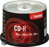Imation CD-R 80 min/700 MB 50 stuks op spindel