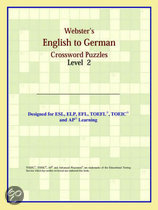 Webster's English To German Crossword Puzzles: Level 2