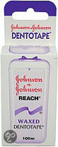 Johnson & Johnson Reach Waxed Dentotape - 100 m - Flosdraad