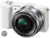 Sony Alpha 5100 + 16-50 mm - Systeemcamera - Wit