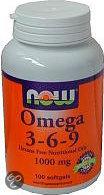 VitOrtho Now Omega 3-6-9 1000 mg tabletten 100 st