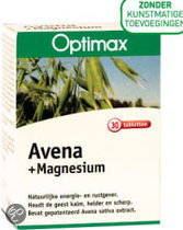 Optimax Avena & Magnesium Tabletten 30 st