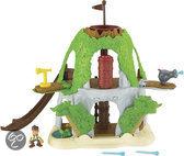 Jake en de Nooitgedachtland piraten - Jake's Magische Tiki Schuilplaats