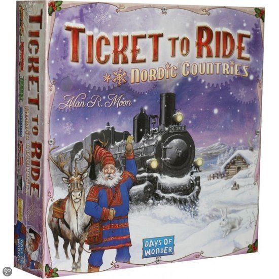 Ticket To Ride Nordic Countries - Bordspel