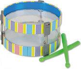 Music & Sounds Trommel met 2 Sticks