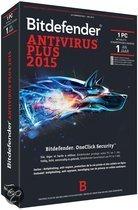 Bitdefender Antivirus Plus 2015 (1 Jaar / 1 Users)