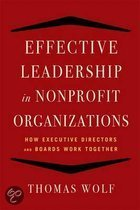 Effective Leadership for Nonprofit Organizations