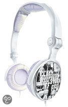 G-Cube iBeats Vouwbare Hoofdtelefoon - Zilver