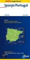 ANWB Wegenkaart Spanje/Portugal