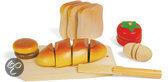Snijset gesneden brood, klittenband