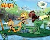 Maya de bij Poster vijver 40 x 50cm