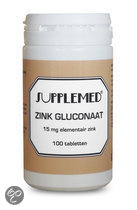 Supplemed Zink Gluconaat 15 mg