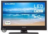 Salora 19LED8000T - Led-tv - 19 inch - HD-ready - Zwart