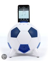 Mi-football_ iPod Speaker Dock (Blauw/Wit)