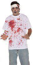 Halloween shirt met bloed