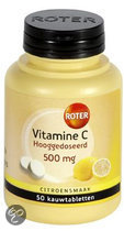Roter Vitamine C Tablet 500 Mg Citroen - 50 Kauwtabletten