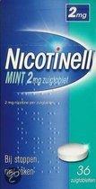 Nicotinell Mint 2 mg zuigtablet - 36 stuks - Antirookbehandeling