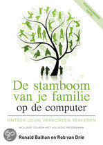 De stamboom van je familie op de computer  + Cd-rom