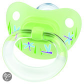 NUK Classic - Orthodontische Fopspeen Happy Days S3 - Groen