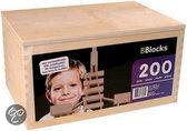 Bblocks in Houten Kist 200-delig