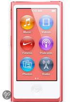 Apple iPod nano - MP4-speler - 16 GB - Roze