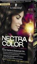 Schwarzkopf Nectra Color 400 Donkerbruin - Haarkleuring