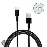 1 meter USB kabel voor Apple iPad 4 - zwart