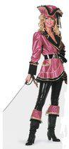 Luxe piraten kostuum dames 42 (xl)
