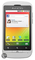 Alcatel One Touch 918D - Dual Sim - Wit