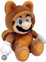 Nintendo Tanooki Mario 28Cm Knuffel