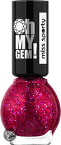 Miss sporty Oh My Gem! - 002 - Roze - Nagellak