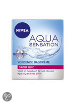 NIVEA Aqua Sensation Droge tot Zeer Droge Huid - 50 ml - Dagcrème