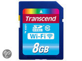 Transcend WiFi SD kaart 8 GB