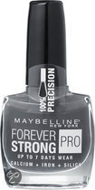 Maybelline Forever Strong Pro - 800 Couture Grey - Wit - Nagellak