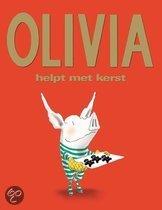 Olivia helpt met kerst