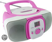 Radio Cd Portable - Roze